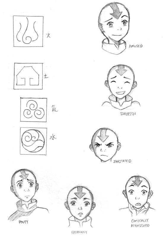 Elements Of Artistic Expression : All avatar symbols